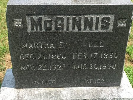 MCGINNIS, LEE - Christian County, Missouri | LEE MCGINNIS - Missouri Gravestone Photos