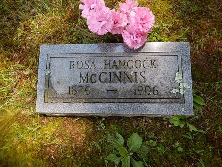 MCGINNIS, ROSA - Christian County, Missouri | ROSA MCGINNIS - Missouri Gravestone Photos