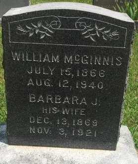 MCGINNIS, WILLIAM - Christian County, Missouri | WILLIAM MCGINNIS - Missouri Gravestone Photos