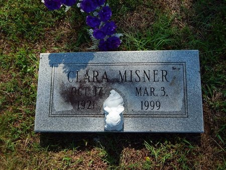 MISNER, CLARA - Christian County, Missouri | CLARA MISNER - Missouri Gravestone Photos