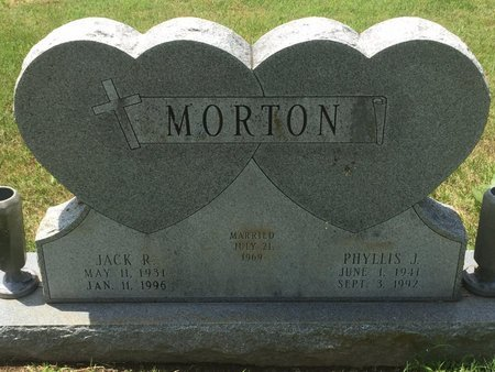 MORTON, JACK R - Christian County, Missouri | JACK R MORTON - Missouri Gravestone Photos