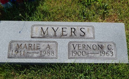 MYERS, VERNON C - Christian County, Missouri | VERNON C MYERS - Missouri Gravestone Photos