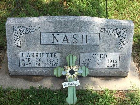 NASH, CLEO - Christian County, Missouri | CLEO NASH - Missouri Gravestone Photos