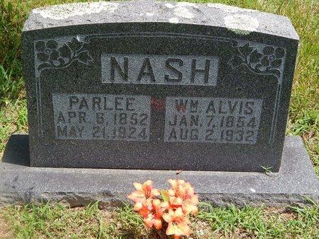 NASH, PARLEE - Christian County, Missouri | PARLEE NASH - Missouri Gravestone Photos