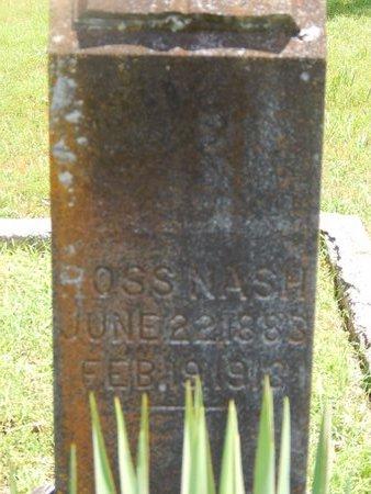 NASH, ROSS - Christian County, Missouri   ROSS NASH - Missouri Gravestone Photos