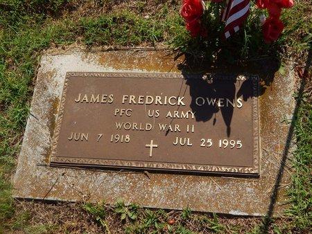 OWENS, JAMES FREDERICK VETERAN WWII - Christian County, Missouri | JAMES FREDERICK VETERAN WWII OWENS - Missouri Gravestone Photos