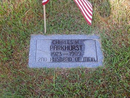 PARKHURST, CHARLES H - Christian County, Missouri   CHARLES H PARKHURST - Missouri Gravestone Photos