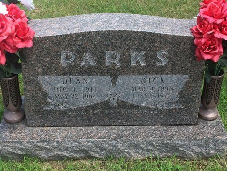 PARKS, DICK - Christian County, Missouri | DICK PARKS - Missouri Gravestone Photos