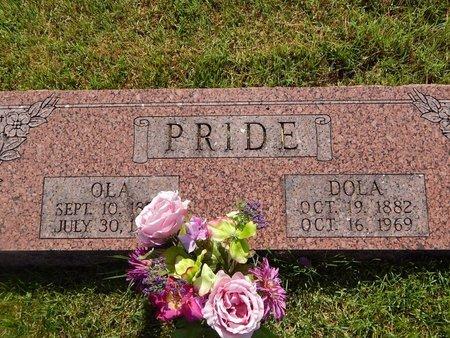 PRIDE, DOLA - Christian County, Missouri | DOLA PRIDE - Missouri Gravestone Photos