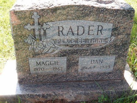 "RADER, WILLIAM D ""DAN"" - Christian County, Missouri 