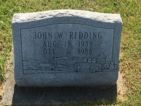 REDDING, JOHN W - Christian County, Missouri   JOHN W REDDING - Missouri Gravestone Photos