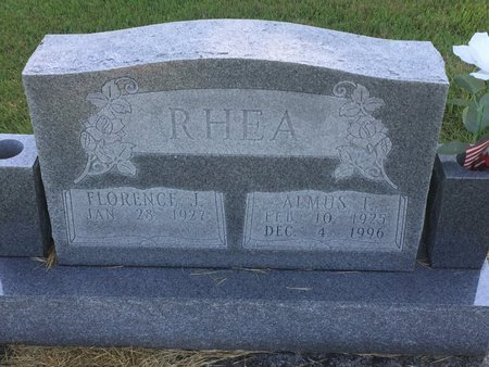 RHEA, ALMUS T - Christian County, Missouri | ALMUS T RHEA - Missouri Gravestone Photos