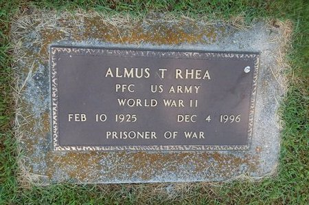 RHEA, ALMUS T VETERAN WWII - Christian County, Missouri | ALMUS T VETERAN WWII RHEA - Missouri Gravestone Photos