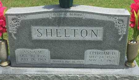SHELTON, EPHRIAM D - Christian County, Missouri | EPHRIAM D SHELTON - Missouri Gravestone Photos