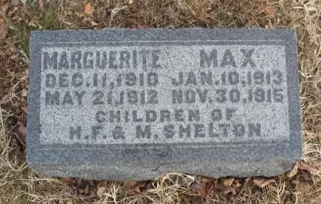 SHELTON, MAX - Christian County, Missouri | MAX SHELTON - Missouri Gravestone Photos