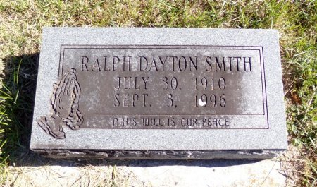 SMITH, RALPH DAYTON - Christian County, Missouri | RALPH DAYTON SMITH - Missouri Gravestone Photos