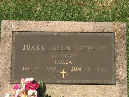 STEWART, JUARL DEEN (VETERAN KOR) - Christian County, Missouri | JUARL DEEN (VETERAN KOR) STEWART - Missouri Gravestone Photos