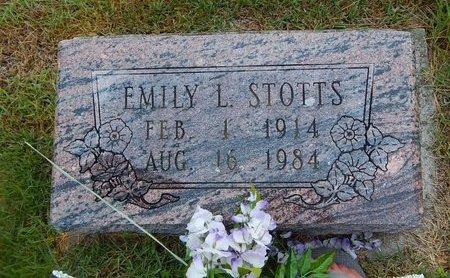 STOTTS, EMILY L - Christian County, Missouri | EMILY L STOTTS - Missouri Gravestone Photos