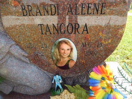 TANGORA, BRANDI ALEENE (CLOSE-UP) - Christian County, Missouri   BRANDI ALEENE (CLOSE-UP) TANGORA - Missouri Gravestone Photos