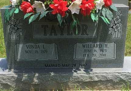 TAYLOR, WILLARD H - Christian County, Missouri | WILLARD H TAYLOR - Missouri Gravestone Photos