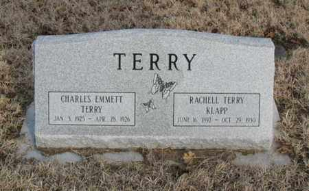 TERRY, CHARLES EMMETT - Christian County, Missouri | CHARLES EMMETT TERRY - Missouri Gravestone Photos