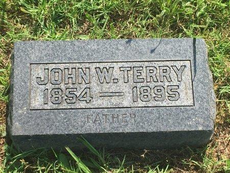 TERRY, JOHN W - Christian County, Missouri | JOHN W TERRY - Missouri Gravestone Photos