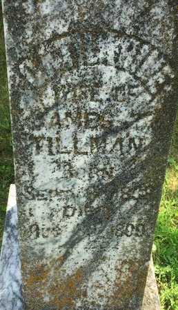 TILLMAN, CATHARINE - Christian County, Missouri   CATHARINE TILLMAN - Missouri Gravestone Photos