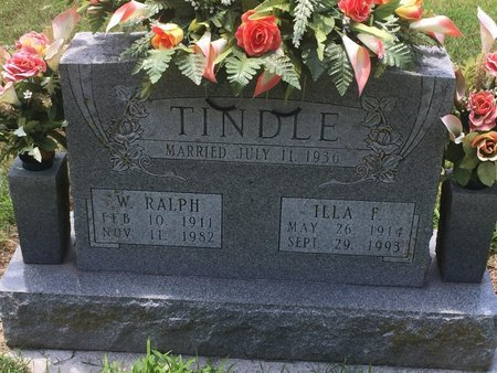 TINDLE, ILLA F - Christian County, Missouri | ILLA F TINDLE - Missouri Gravestone Photos