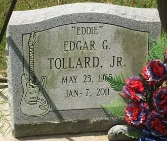 TOLLARD, EDGAR G JR - Christian County, Missouri | EDGAR G JR TOLLARD - Missouri Gravestone Photos