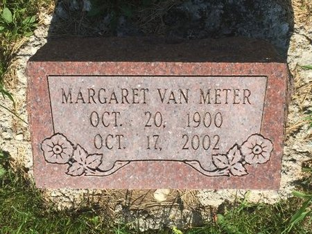 VAN METER, MARGARET - Christian County, Missouri | MARGARET VAN METER - Missouri Gravestone Photos