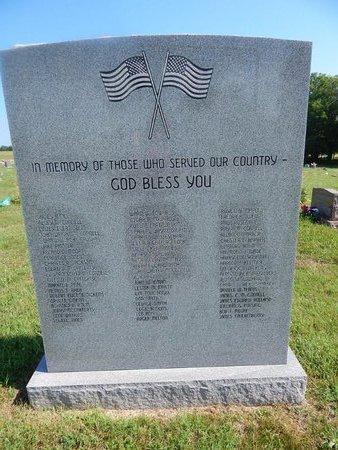 VETERAN MEMORIAL, MARKER - Christian County, Missouri   MARKER VETERAN MEMORIAL - Missouri Gravestone Photos