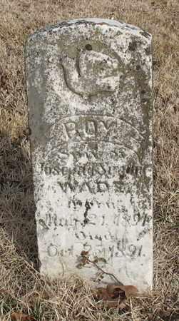 WADE, ROY - Christian County, Missouri | ROY WADE - Missouri Gravestone Photos