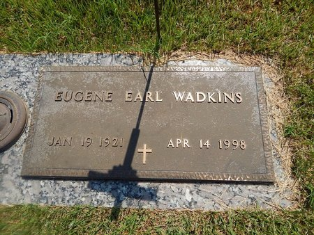 WADKINS, EUGENE EARL - Christian County, Missouri | EUGENE EARL WADKINS - Missouri Gravestone Photos