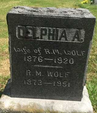 WOLF, R M - Christian County, Missouri | R M WOLF - Missouri Gravestone Photos