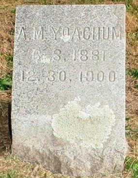 YOACHUM, ALFRED M. - Christian County, Missouri   ALFRED M. YOACHUM - Missouri Gravestone Photos