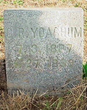YOACHUM, C. ROSS - Christian County, Missouri | C. ROSS YOACHUM - Missouri Gravestone Photos
