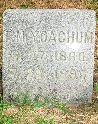 YOACHUM, FRANCES MADORA - Christian County, Missouri | FRANCES MADORA YOACHUM - Missouri Gravestone Photos