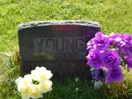 YOUNG, CORA - Christian County, Missouri | CORA YOUNG - Missouri Gravestone Photos