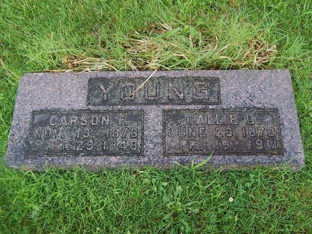 YOUNG, CALLIE D - Christian County, Missouri | CALLIE D YOUNG - Missouri Gravestone Photos