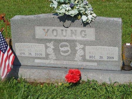 YOUNG, JOSEPHINE - Christian County, Missouri | JOSEPHINE YOUNG - Missouri Gravestone Photos