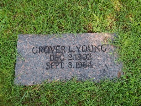 YOUNG, GROVER L - Christian County, Missouri | GROVER L YOUNG - Missouri Gravestone Photos