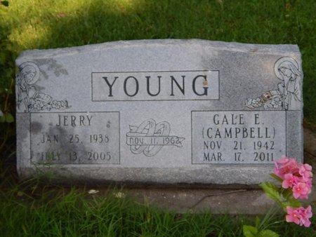 YOUNG, JERRY - Christian County, Missouri | JERRY YOUNG - Missouri Gravestone Photos
