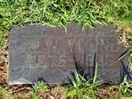 YOUNG, J W - Christian County, Missouri | J W YOUNG - Missouri Gravestone Photos