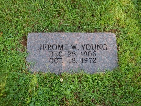 YOUNG, JEROME W - Christian County, Missouri | JEROME W YOUNG - Missouri Gravestone Photos