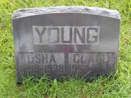 YOUNG, OSHA - Christian County, Missouri | OSHA YOUNG - Missouri Gravestone Photos