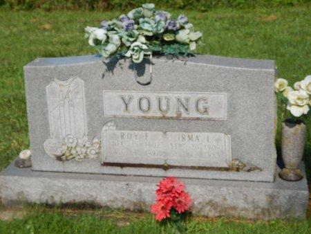 YOUNG, ROY AND IRMA - Christian County, Missouri | ROY AND IRMA YOUNG - Missouri Gravestone Photos