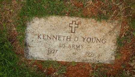 YOUNG, KENNETH D (VETERAN) - Christian County, Missouri | KENNETH D (VETERAN) YOUNG - Missouri Gravestone Photos
