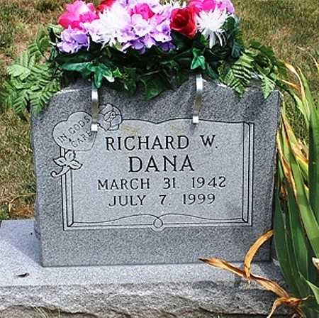 DANA, RICHARD WILLIAM - Clay County, Missouri | RICHARD WILLIAM DANA - Missouri Gravestone Photos