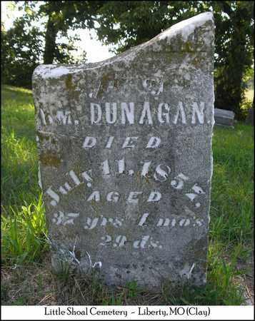 DUNAGAN, MARGARET ANN - Clay County, Missouri | MARGARET ANN DUNAGAN - Missouri Gravestone Photos