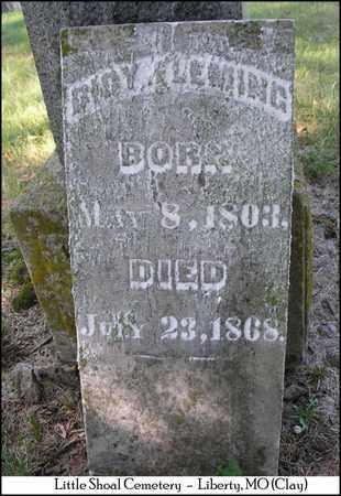 FLEMING, DICY - Clay County, Missouri | DICY FLEMING - Missouri Gravestone Photos